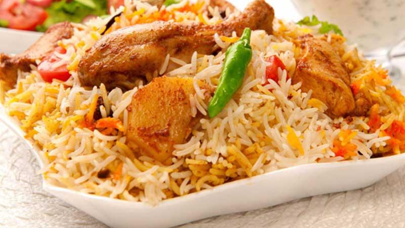 the maharaja caterers biriyani menu