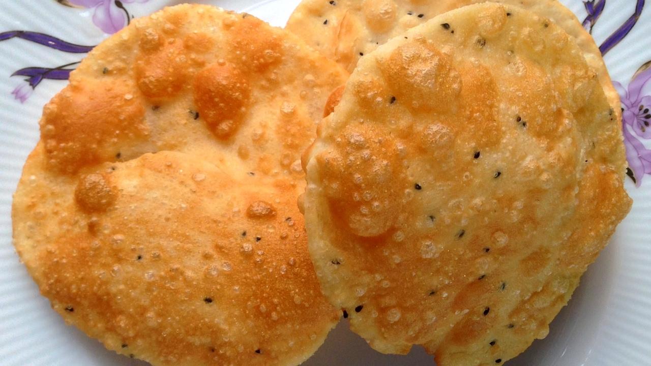 the maharaja caterers, flour based menu