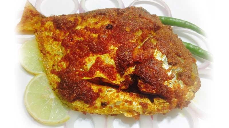 the maharaja caterers, fish based menu