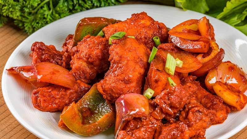 the maharaja caterers non veg fish based menu
